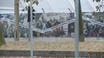 Jovem encontrada seminua junto ao Queimódromo do Porto