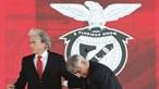 Vieira resiste a apelos para despedir Jorge Jesus do Benfica