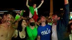 Casos de Covid-19 aumentam devido às celebrações públicas após o Euro 2020