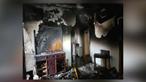 Casas destruídas em incêndio que consumiu prédio de 10 andares em Sintra