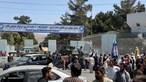'Há quatro ou cinco portugueses no aeroporto de Cabul' à espera para abandonar Afeganistão